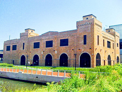 Bronx Terminal Market Power House, Mill Pond Park, The Bronx, NYC