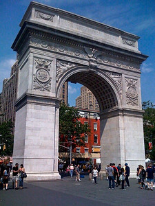 Washington Square Arch, Greenwich Village, NYC