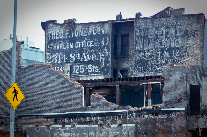 Theo F. Tone & Co. Coal Warehouse, Harlem Office advertisement
