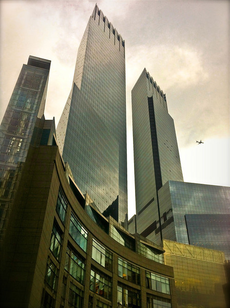 Time Warner Towers, Columbus Circle<br /> <br /> iPhone photo