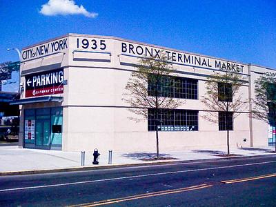 Former Bronx Terminal Market Building, NYC
