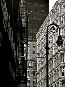 Bennett Building, 93-99 Nassau Street, NYC  iPhone photo