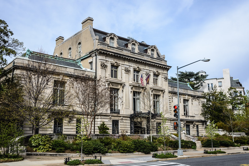 Cosmos Club, Richard T. Townsend House, 2121 Massachusetts Avenue NW, Washington DC