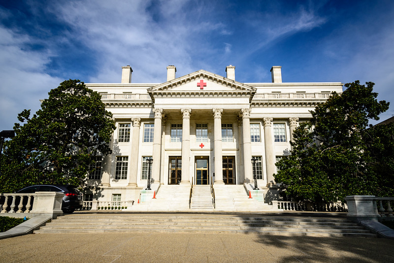 American Red Cross National Headquarters, 17th Street NW, Washington DC