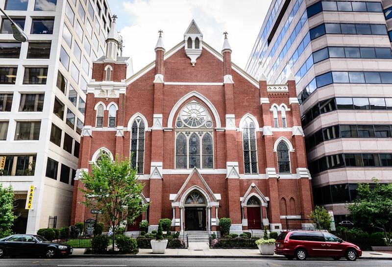 Metropolitan African Methodist Episcopal Church, 1518 M Street NW, Washington DC