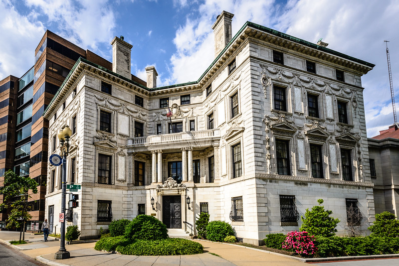 Former Washington Club, Patterson Mansion, 15 Dupont Circle NW, Washington DC
