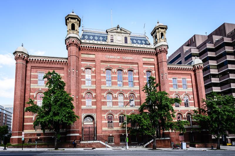 Franklin School, Franklin Square, 13th & K Streets NW, Washington DC