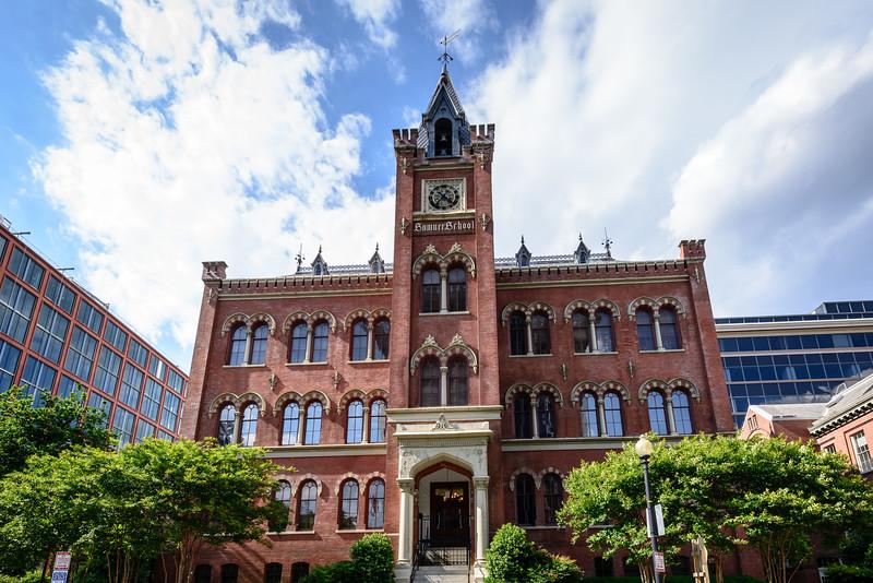 Charles Sumner School, 17th and M Streets NW, Washington DC