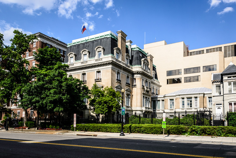 Russian Ambassador's Residence, Pullman House, 1125 16th Street NW, Washington DC