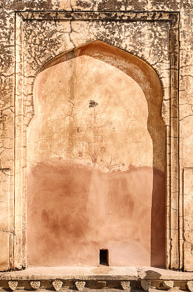 Wall Niche At The Amber Fort