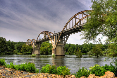 R. M. Ruthven (Cotter) Bridge over the White River