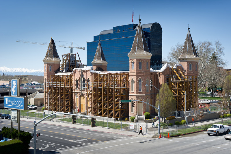 """Provo Tabernacle - a part of the continued study by the LDS Church and FFKR Architects ( <a href=""""http://www.ffkr.com"""">http://www.ffkr.com</a>).  Provo Utah."""