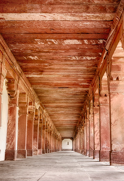 Stone Passage Of Fatehpur