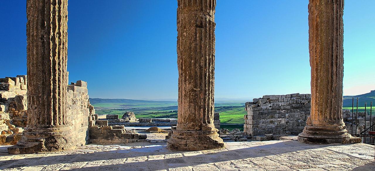Dougga Roman ruin, Tunisia