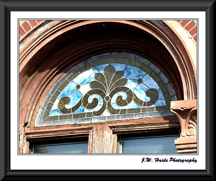 Transom Window in downtown Hillsboro, Oregon