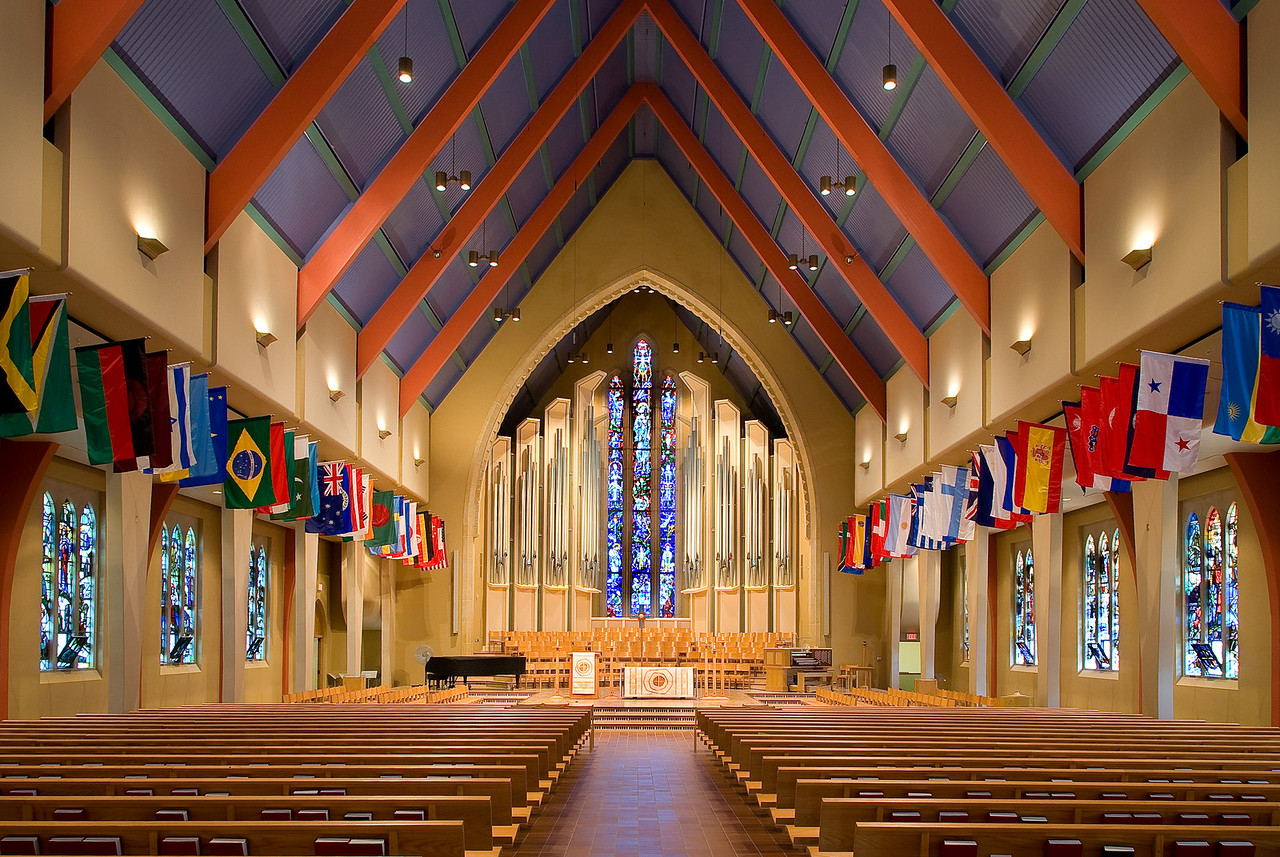 St. Olaf Chapel-St. Olaf College-Northfield MN.---Arc-4031