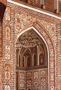 Decorative Mosaic Archway, India