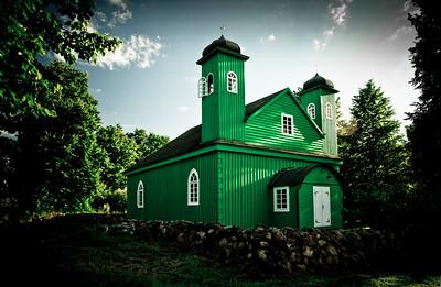 Tartar mosque in Kruszyniany, Poland
