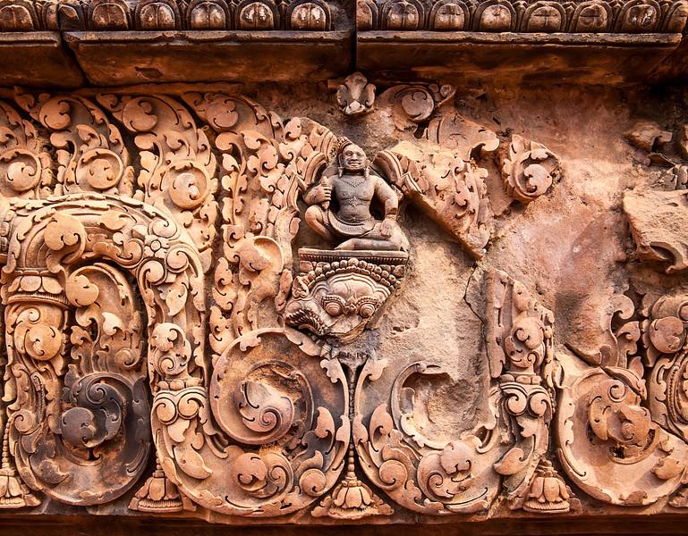 Buddha at Banteay Srei Temple