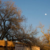 Santa Fe plaza, late afternoon