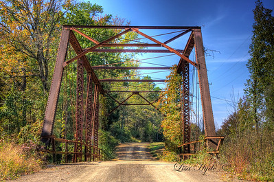 Achmun Creek Bridge - Yell County