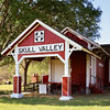 An old train station originally located in the Verde Valley of AZ, recently moved to Skull Valley.  Now it is a visitor center.