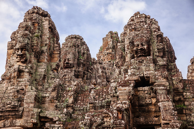 Towers Of The Bayon Temple