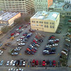 Parking Lot <br /> Behind Hard Rock Cafe. Taken with Motorola Rizr.