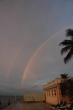 Southernmost Double Rainbows