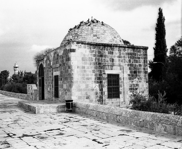 Guardhouse On The Temple Mount