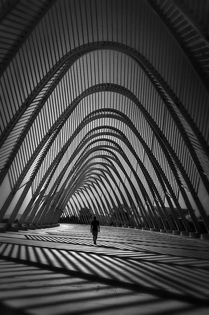 Waves of Imagination - Agora by Calatrava Athens