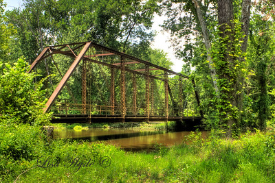 Dale Bend Bridge over the Petit Jean River, Yell County, AR