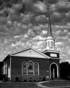 Archdale United Methodist Church B&W 4/26/08