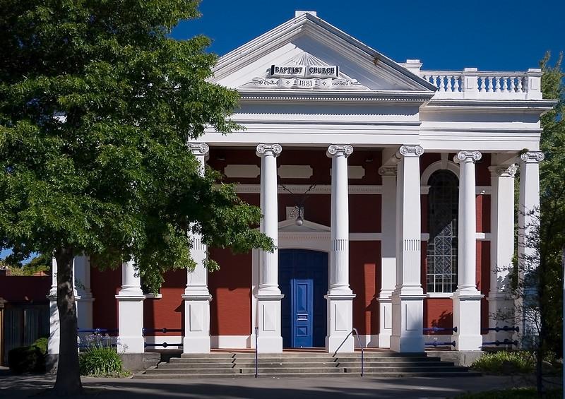 Baptist church, Christchurch, New Zealand