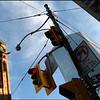 Old Toronto City Hall clock tower.