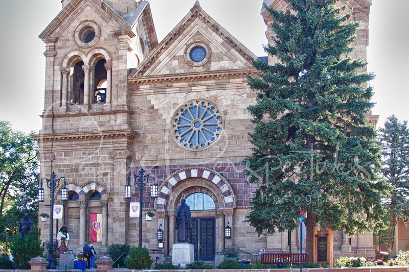 St. Francis Cathedral in Santa Fe, New Mexico.