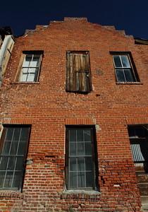 Old Brick Building - Bodie, Ca