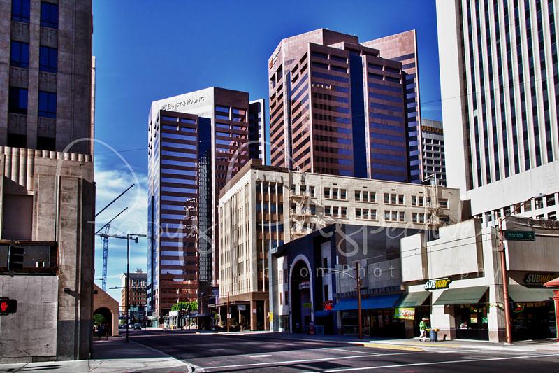 Downtown Phoenix, Arizona.