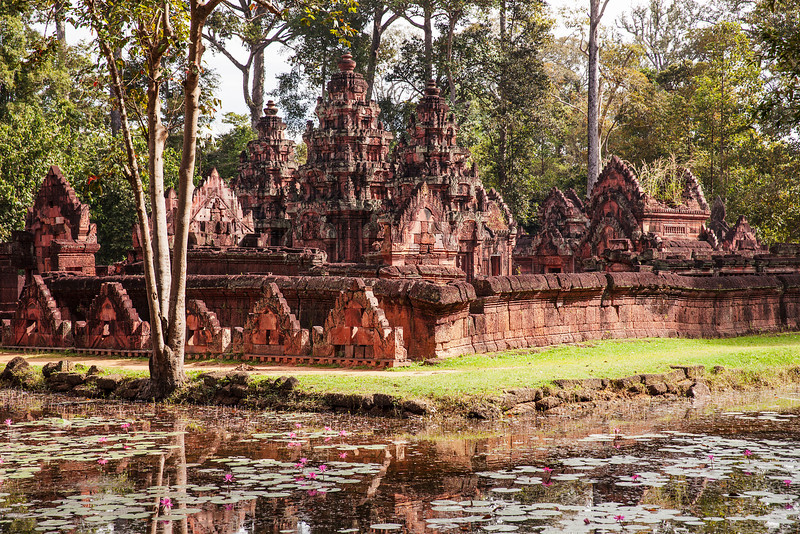Banteay Srei Temple In The Jungle