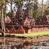 Banteay Srei Temple In The Jungle