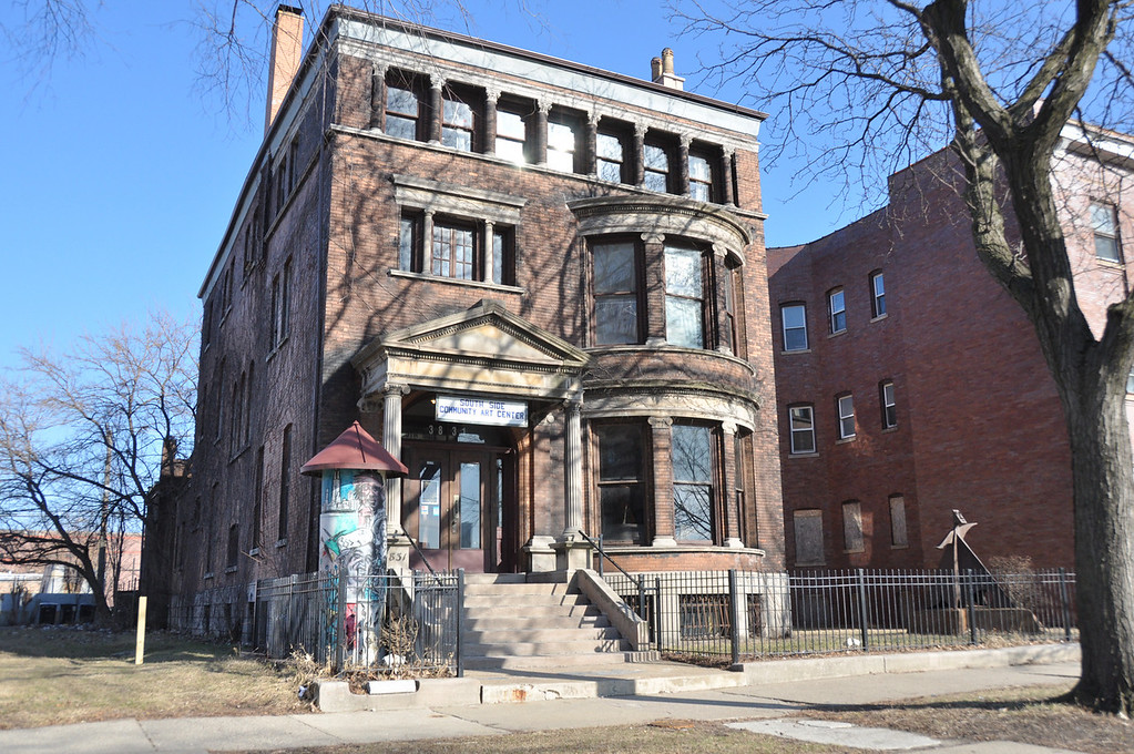 Historical Landmark ~ South Side Community Art Center ~ Chicago, IL