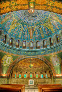 Lakewood Chapel, Lakewood Cemetary,Minneapolis MN---Arc-4023