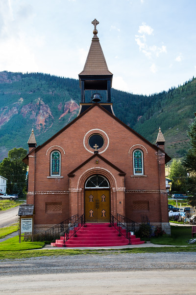 St. Patrick Catholic Church, Silverton, CO. 1905