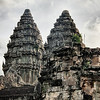 Two Towers Of Angkor Wat
