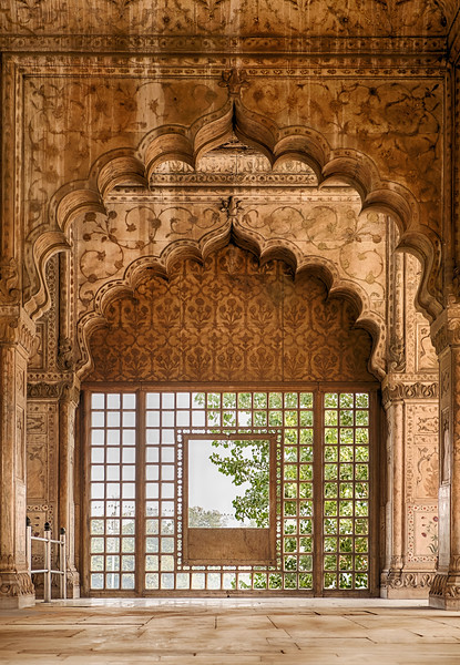 Hall of Private Audience In The Red Fort