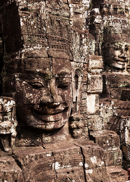 Two Faces of The Bayon