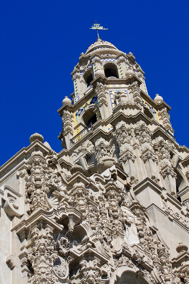 California Tower, Balboa Park