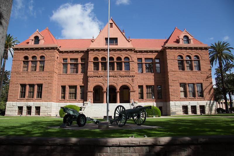 Old Orange County Courthouse, 1901