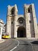 Lisbon's ancient cathedral was built by Portugal's first king on the site of an old mosque in 1150 for the city's first bishop, the English crusader Gilbert of Hastings. With two bell towers and a rose window, the facade resembles a medieval fortress.