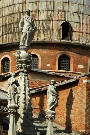 Roof Statues